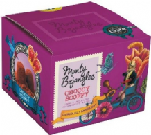 Monty Bojangles French Choccy Scoffy Cocoa Dusted Truffles 150g